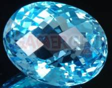 topaze bleu suisse 25x21x16 mm 60.80 cts a