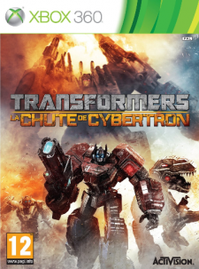 Transformers La Chute de Cybertron jaquette
