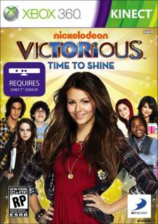 victorious time to shine kinect jaquette