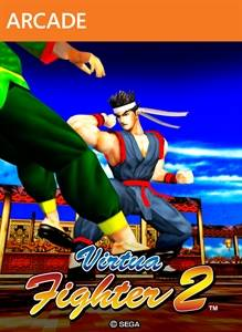 virtua fighters 2 xbox live jaquette