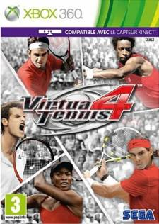 Virtua Tennis 4 xbox 360 jaquette