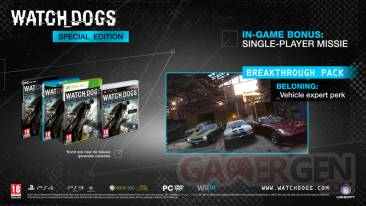 watch dogs special edition - Copie