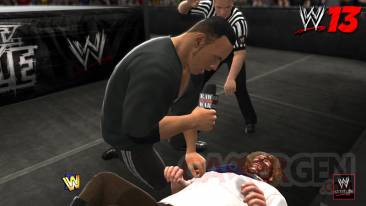 WWE 13 i quit the rock mankind capture screnshot image 25-09-2012
