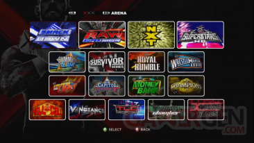 WWE 13 mode creation capture image screenshot 2