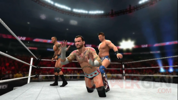 WWE 13 mode univers wwe 3 0 capture image screenshot 2