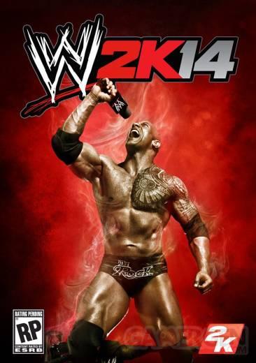 WWE 2K14 visuel jaquette ntsc 24-06-2013