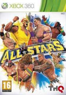 wwe all star xbox 360 jaquette