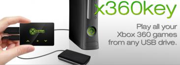 X360 key.