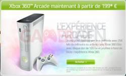 xbox 360 Arcade nouveau prix