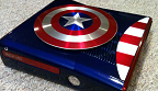 Xbox 360 S Captain America - captures vignette