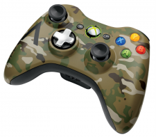xbox 360 manette camoufflage 01