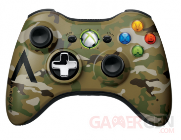 xbox 360 manette camoufflage 04