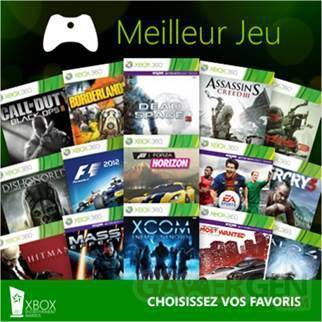 xbox entertainment awards