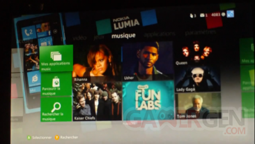Xbox LIVE dashboard bêta 07-06-2012 screenshot image