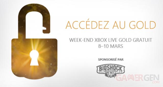 xbox live gold gratuit 8 10 mars 2013