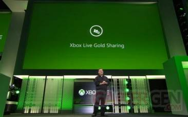 xbox live gold sharing