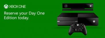 xbox one reservation day one edition