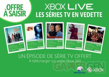 xbox video episode serie tv offert