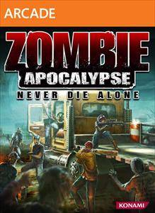 Zombie Apocalypse Never Die Alone jacquette