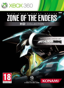 zone of the enders jaquette