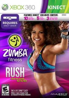 zumba fitness rush box